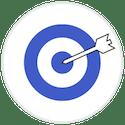 Arrow in Bullseye Icon