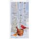 Cardinals & Birch Tree Winter Pharmacy Bag