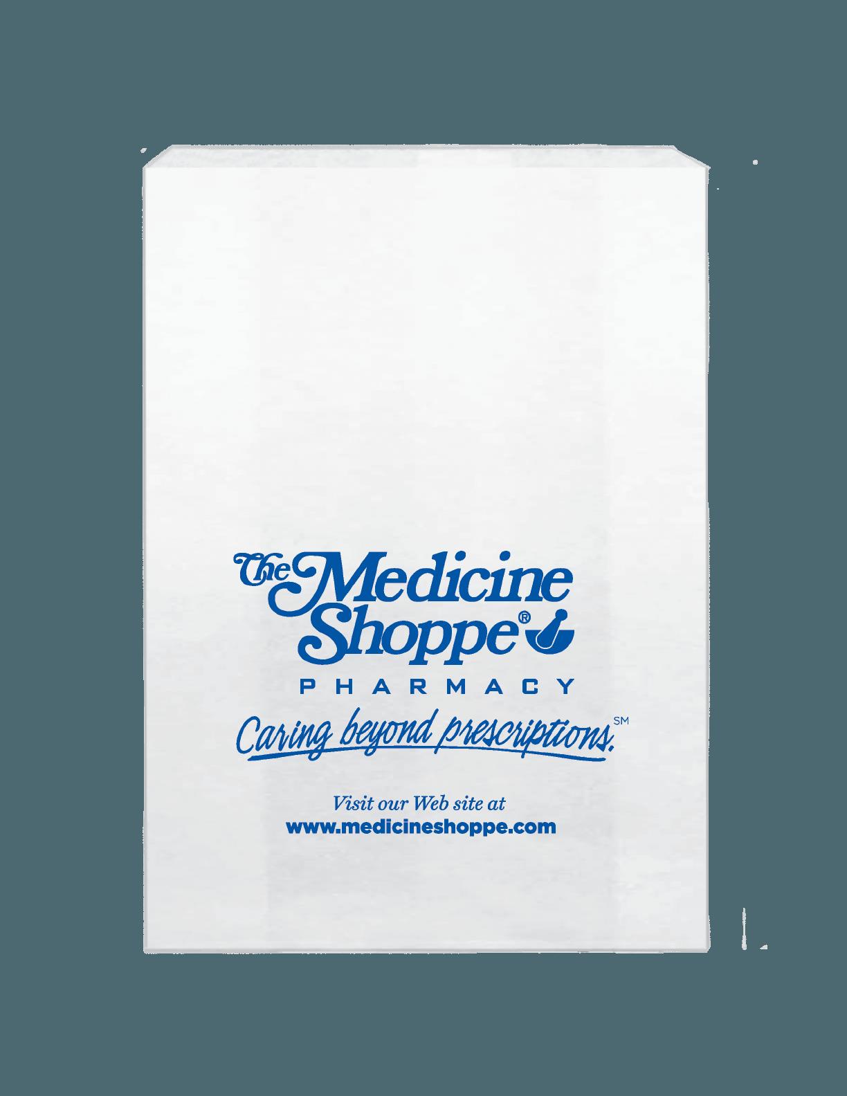 Medicine Shoppe Pharmacy Bag