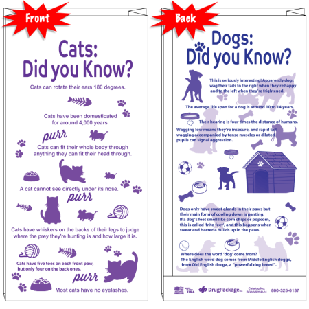Did you know about cats and dogs