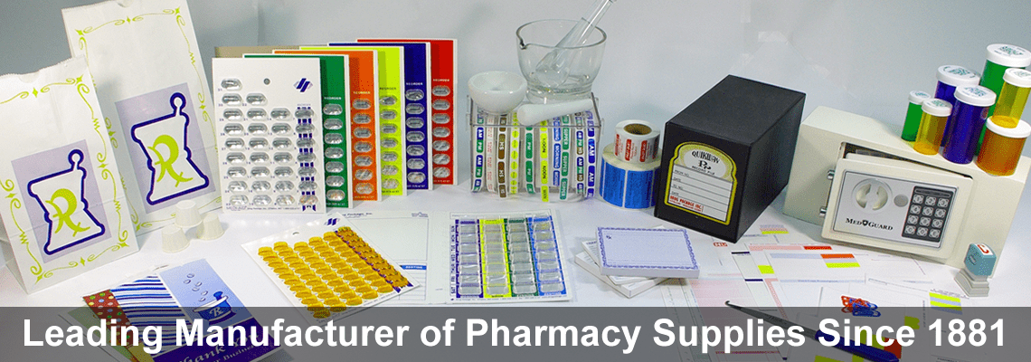 Leading Manufacturer of Pharmacy Supplies Since 1881