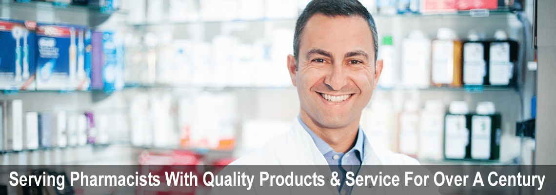 Serving Pharmicists With Quality Products & Service For Over A Century