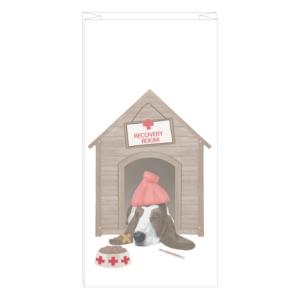 Veterinary Recovery Room dog bag