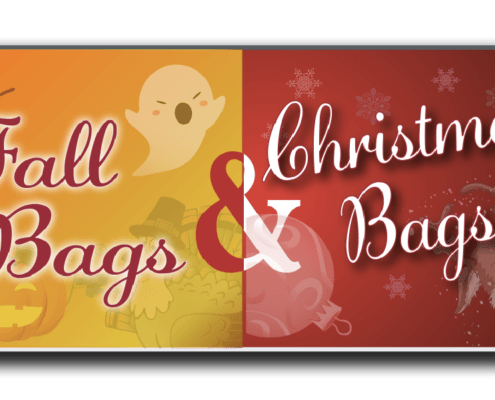 Holiday Pharmacy Bags