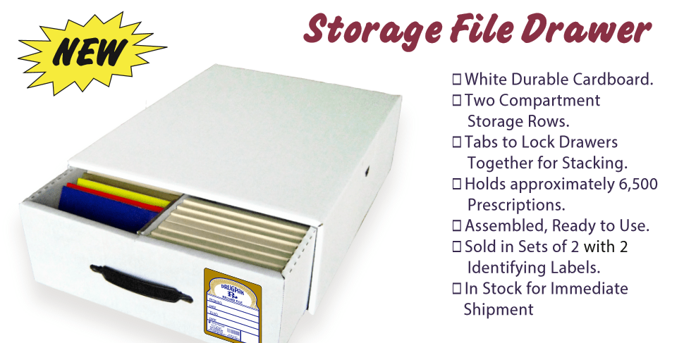 Our New Rx Storage File Drawer: 5 Key Features